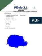 Parametros Fazenda Rio Grande