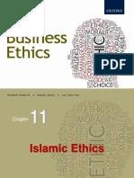 Chapter11 - Islamic Ethics