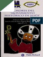 Historia Del Movimiento Histórico de Jesús
