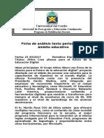 Ficha de Análisis de textos periodistico en el ambito educativo (1) Maria Tolenitno.doc