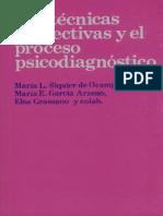 Siquier de Ocampo - Las Tecnicas Proyectivas Y El Proceso Psicodiganostico