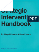 Strategic Intervention Handbook- How to Quickly Produce Profound Change in Yourself and Others
