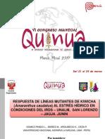 Kiwicha Cmq Siga Peru 2017