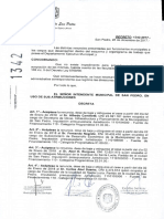 Ajuste de La Politica - El Decreto 1342