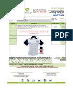 Cotizacion Siccsanic Camisas Confeccionadas
