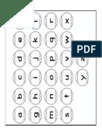 Alphabet Colouring