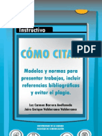 MET. Instructivo Como Citar