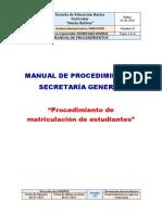 Formato Para El Manual de Procedimientos