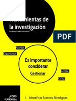Herramientas de La InvestigaciónDLD