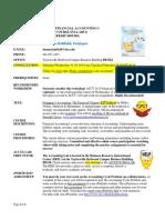 acct 1110 syllabus online 12ed