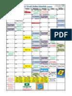 1110 calendar fall 2017 15-week online
