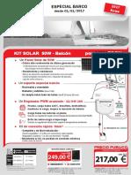 Kit 50W Balcon Doc Utilisateur 01-01-2017 ES