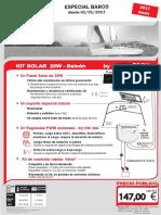 Kit 20W Balcon Doc Utilisateur 01-01-2017 ES