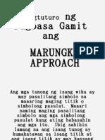 Marungko Approach Power Point