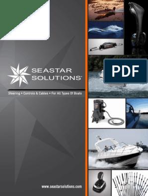 SeaStar Boat Steering Catalog | Steering | Gear