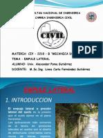 Expo Empueje Lateral- Suelos II Civ - 2220