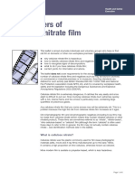 The dangers of cellulose nitrate film