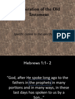 Inspiration of the Old Testament - Lesson 2