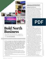 Julie Kendrick for Delta Sky -- Bold North Business