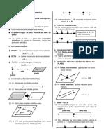 Introdução à Geometria - Ponto Reta e Plano