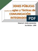 RR PP - Estrategias y Tacticas de Comunicacion Integradora- 1999