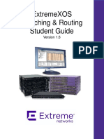 ExtremeXOS - Switching&Routing
