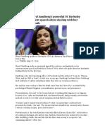 Resilience - Sheryl Sandberg - Positive Psych