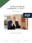 Charles W Ranson - The Rauschenberg Foundation, a Case