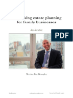 Roy Kozupsky - Rethinking estate planning for family businesses