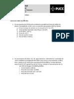 Ejercicios Sobre Gravimetría Bioquímica Clínica