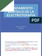 Fundamento Biofisico de La Electroterapia