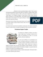 Periodistas de La Libertad