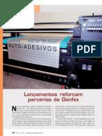 Impressao Digital u v Flatbed Vinil Aplike Antiderrapante Tecido