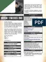 British Far East 19411