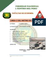 Monografia de Linea 2 Del Metro Delima 2016