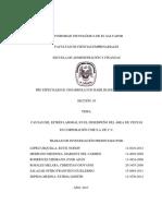 Trabajo de Investigación, Estrés Laboral en Corporación CME S.A. de C.V.