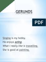 Gerunds