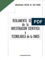 UMSS reglamento investigación.pdf