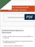 Condicionamiento Operante