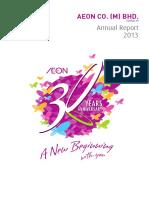 AEON Annual Report 2013