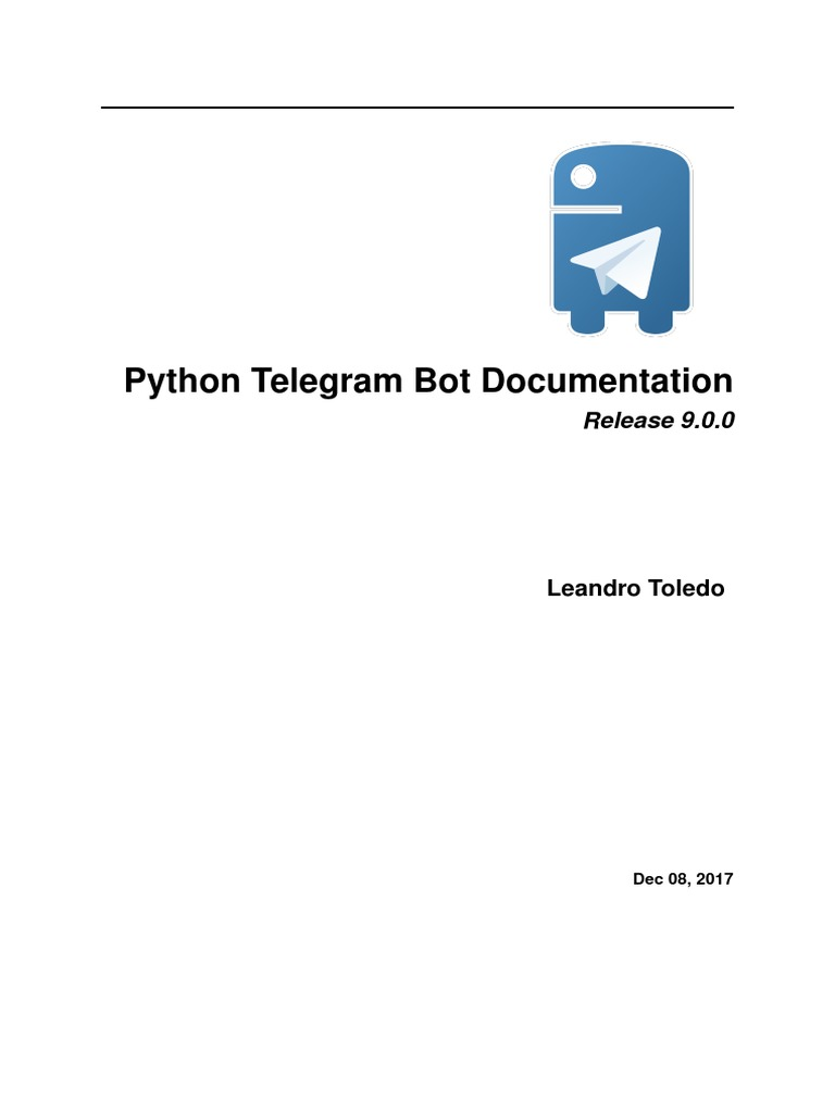 32942 Python Telegram Bot | Parameter (Computer Programming