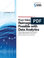 Reimiaginaing the Possible with Data Analytics