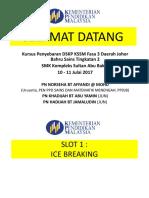 Kursus Penyebaran Dskp Kssm t2 Day 1 (Daerah)