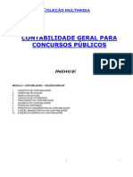 CONTABILIDADE GERAL PARA CONCURSOS PÚBLICOS