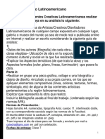 ARTE Y DISEÑO LATINOAMERICANO