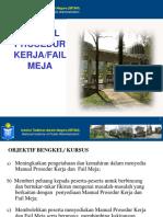 Manual Prosedur Kerja MPK Fail Meja FM