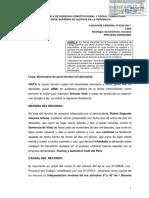 Legis.pe Cas. Lab. 4255 2017 Lima Establecen Debida Interpretación Sobre La Fuerza Vinculante de Convenciones Colectivas