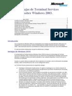 Ventajas TerminalServices2003