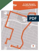 Memphis Marathon Weekend 5k Course Map