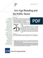 New Age Branding and the Public Sector